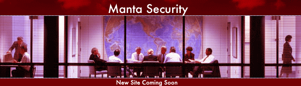 Manta Security New Site Coming Soon